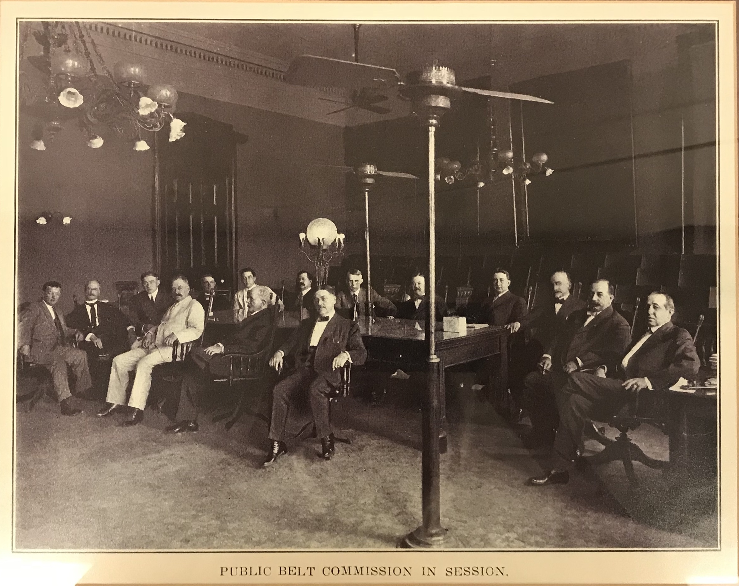 First NOPB board in 1904