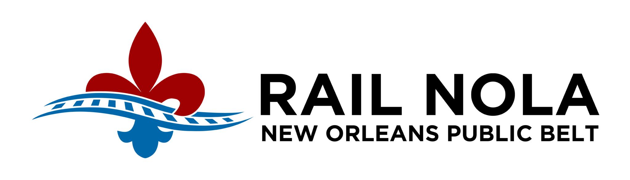 RailNOLA horizontal logo
