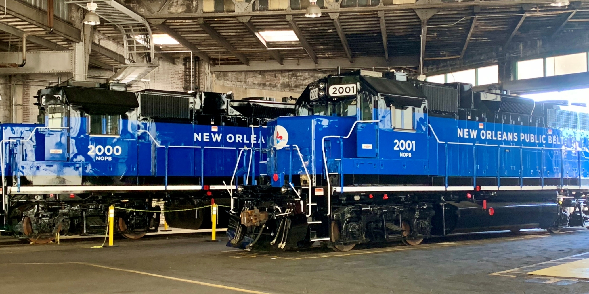 New Orleans Public Belt New EMD Locomotive