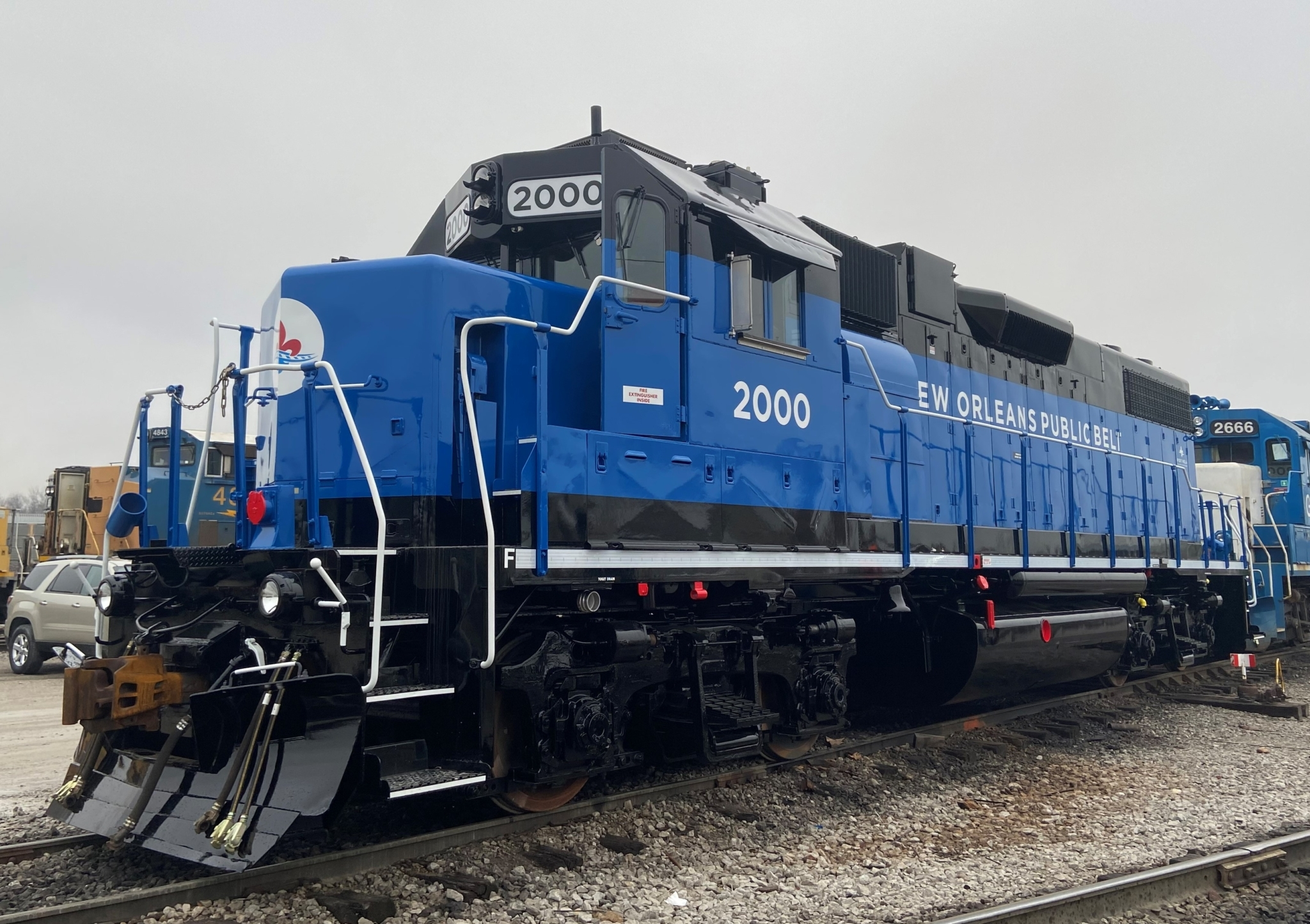 New EMD Locomotive 2000